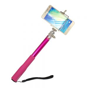 Selfie Stick Dragonfly Pink