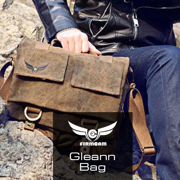 Gleann Bag Vintage Fototasche