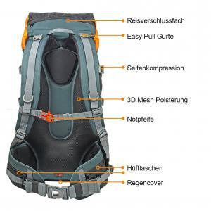 Detail Kompar Trekking Rucksack