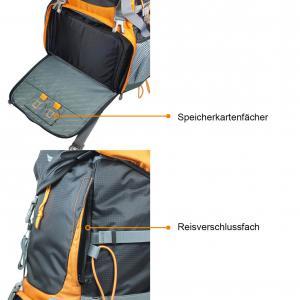 Kompar Trekking Wanderrucksack Details