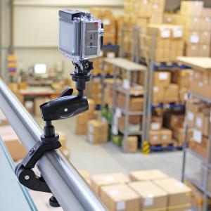 Superklemme Parrot Masterklemme mit Action Kamera als Videoüberwachung