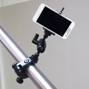 Schraubklemme Parrot Masterklemme mit Smartphone Clip
