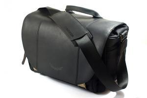 Angus Leder Fototasche schwarz